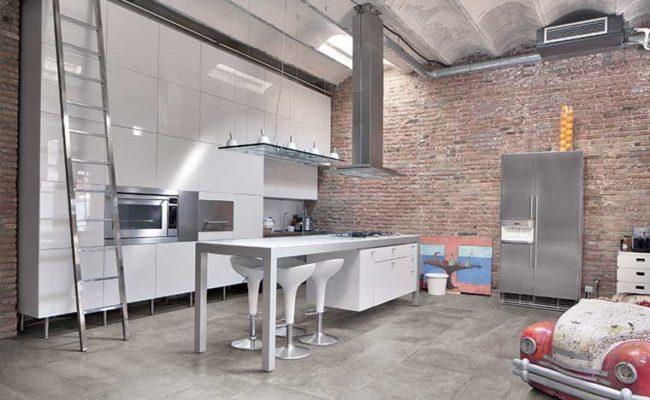 GrigioCemento-Work-Cucina